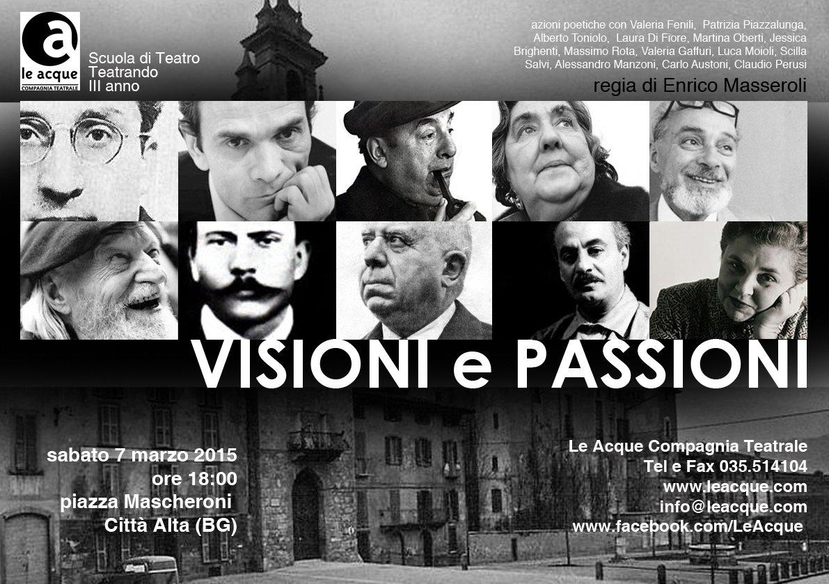 Visioni e passioni
