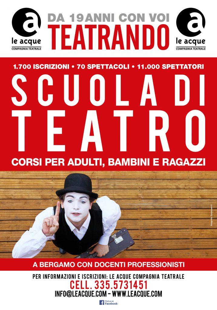 Le Acque compagnia teatrale 2019 TEATRANDO