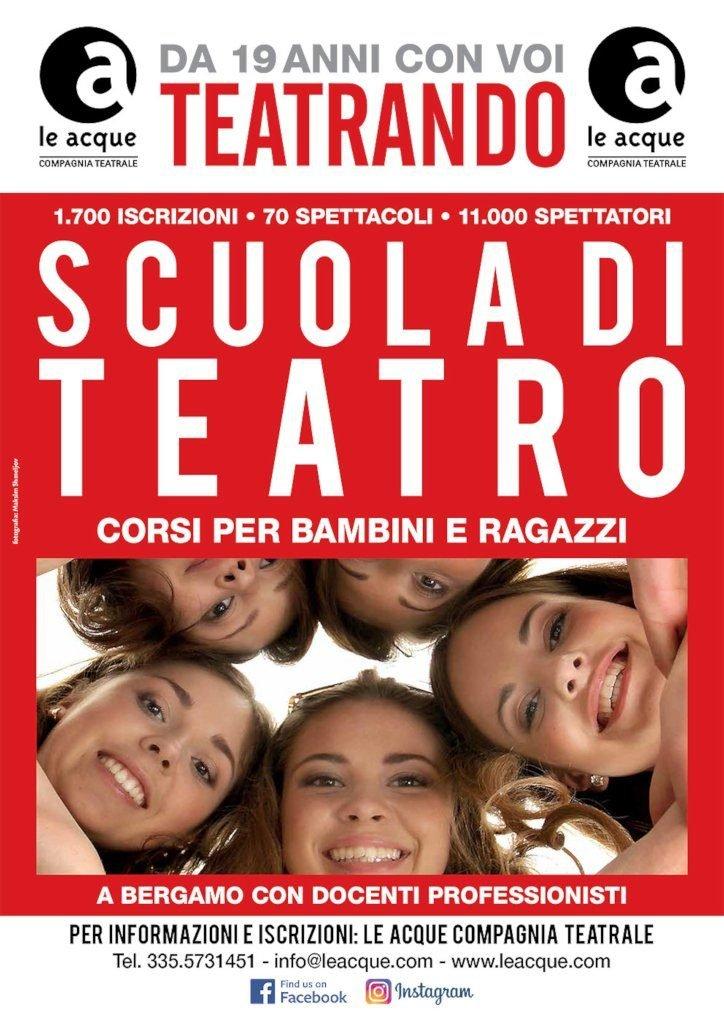 Le Acque compagnia teatrale Bambini e Ragazzi 2019-Locandina-09-2019