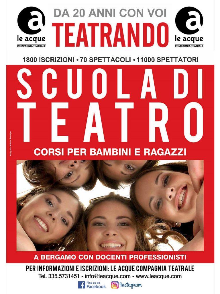 Le Acque Teatrando Scuola di Teatro Ragazzi 2020