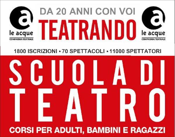 teatrando scuola di teatro a bergamo 2020
