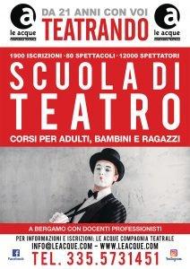 teatrando scuola di teatro a bergamo 2021